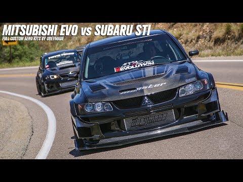 Mitsubishi Evo vs Subaru STI pt.2