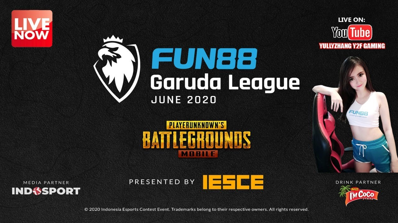 (DAY 30) FUN88 GARUDA LEAGUE JUNE 2020 PUBGM - IESCE ESPORTS TOURNAMENT