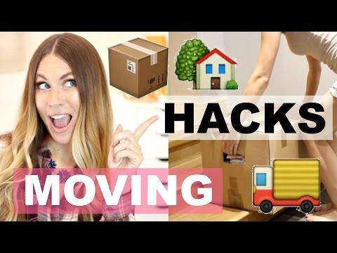 MOVING HACKS | Tips Everyone NEEDS!