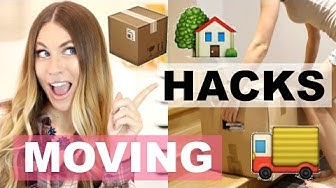 MOVING HACKS | Tips Everyone NEEDS!