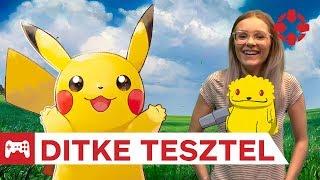 Kidobós szörnyekkel - Pokémon: Let's Go, Pikachu! teszt