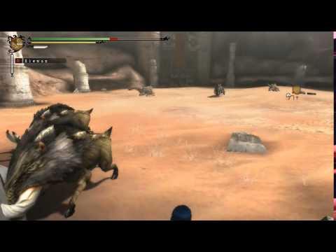Monster Hunter Streaking With Bullfango