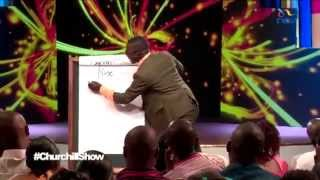 Teacher Mpamire Live at Churchill Show,Nairobi-Kenya.