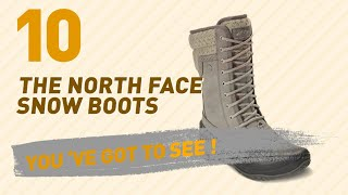 The North Face Snow Boots // New & Popular 2017