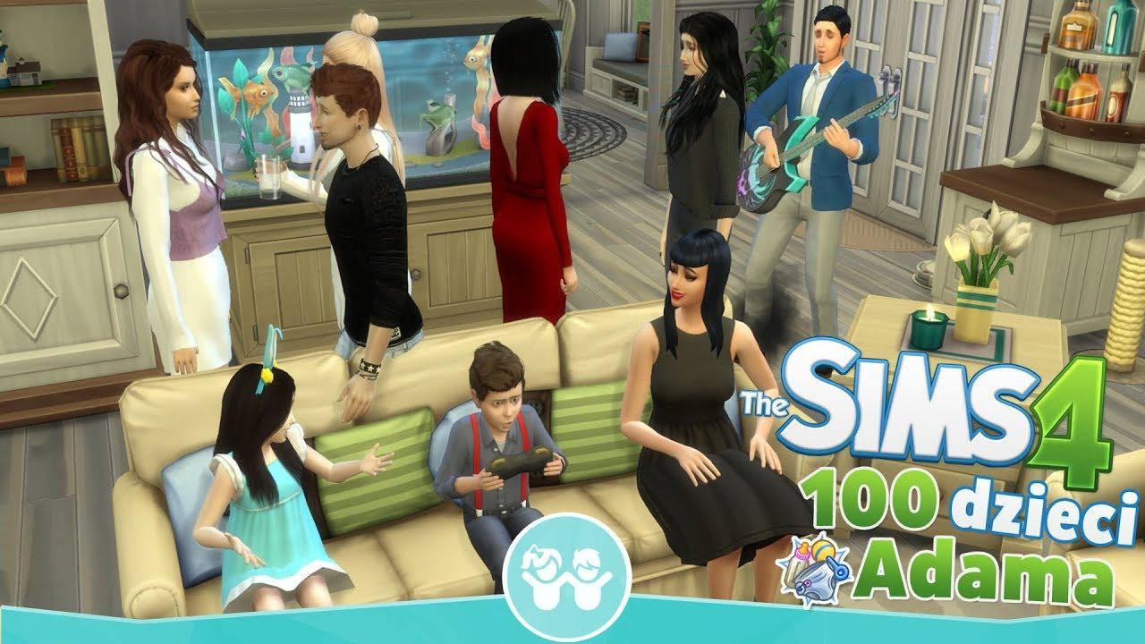Download The Sims 4 Pl : Wyzwanie 100 dzieci Adama #126 - Wielkanoc z rodzinką i urodziny Rosi