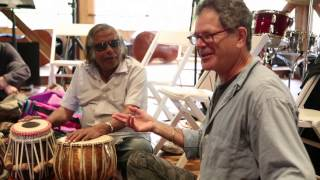 Steve Gorn & Badal Roy - CMS Workshop on Indian rhythms & raga structures (excerpt)