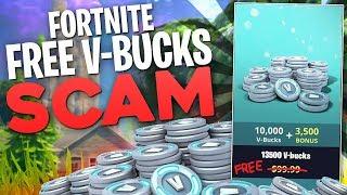 Fortnite Free VBucks SCAM! (Fake & Scam Apps That Target Children For Click Farm Labor)