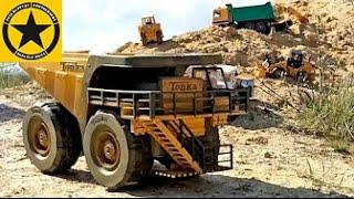 BRUDER TOY TRUCKS modified DUMP TRUCK Tonka in BWORLD CONSTRUCTION