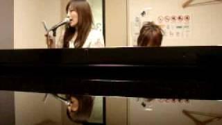 浜崎あゆみのBalladを小圷の即興ピアノで里見が歌ってみました。 NO練習...