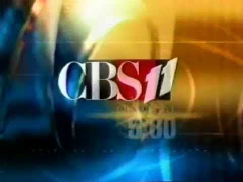 KTVT CBS 11 News at 5pm 2002 Open