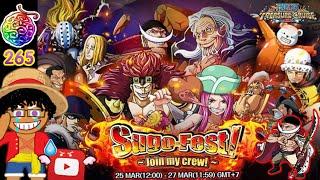 265 Gems [LINE วันพีซ TC] Sugo-Fest #3 | ยิงบาร์หา