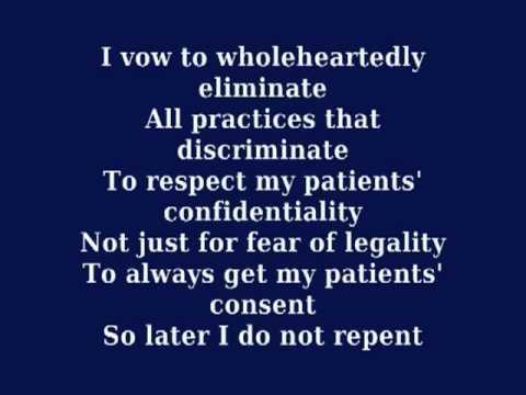 Hippocratic Oath: A New Day
