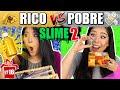 RICO VS POBRE FAZENDO AMOEBA/SLIME 2 #ESPECIALFIMDEANO   Blog das irmãs