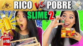 RICO VS POBRE FAZENDO AMOEBA/SLIME !! #2 #ESPECIALFIMDEANO | Blog das irmãs thumbnail