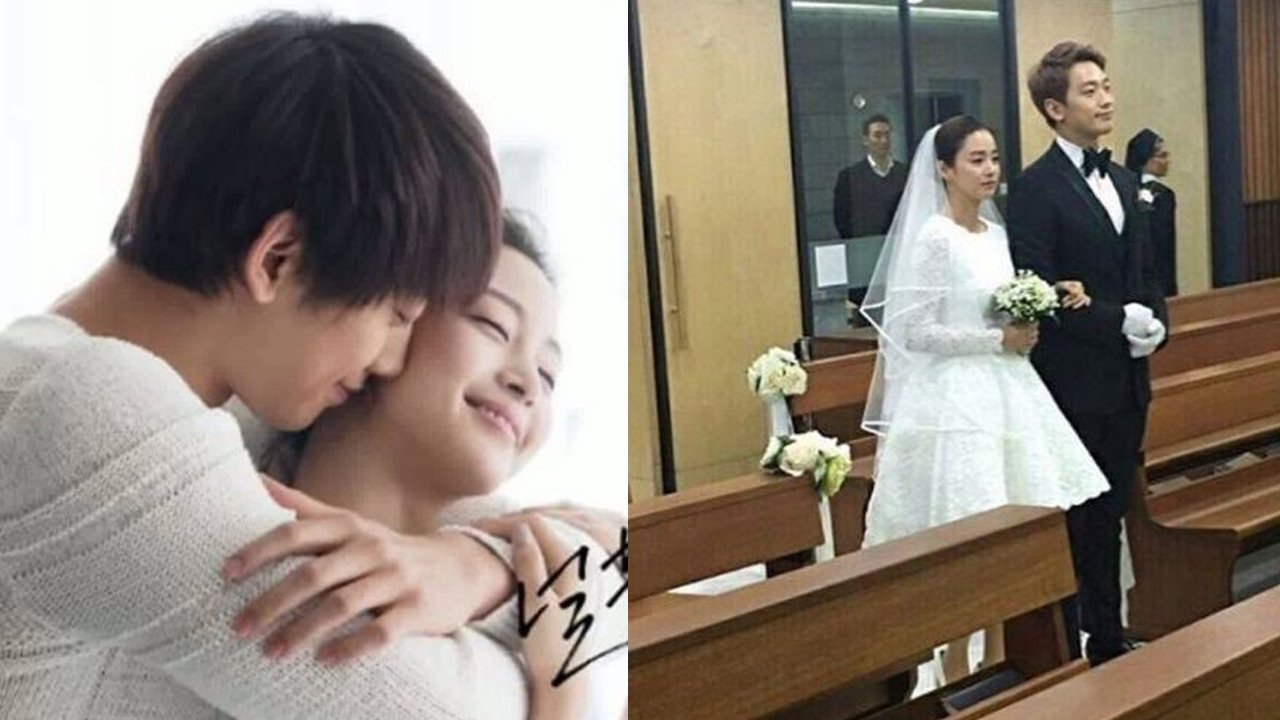 Rain And Kim Tae Hee Are Married Pictures From Their Beautiful