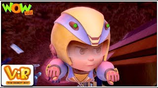 Earth In Trouble | Vir: The Robot Boy WITH ENGLISH,SPANISH & FRENCH SUBTITLES | WowKidz