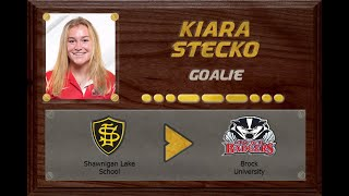 Kiara Stecko - CSSHL to USports | Stand Out Sports Client Hall of Fame