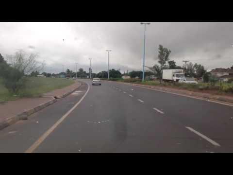 Driving in Gaborone Botswana