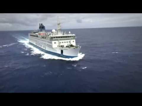 """""""Africa Mercy"""", el buque hospital que busca salvar vidas en África"""