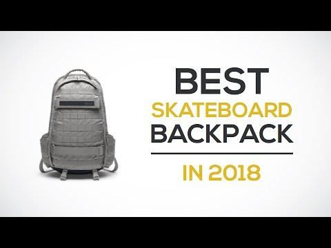 a96f785e9d46 Best Skateboard Backpack Reviews 2018 - YouTube