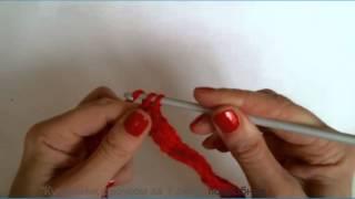 """Вязание крючком. 2 Урок видео курса """"Уроки вязания для начинающих"""" (крючок)"""