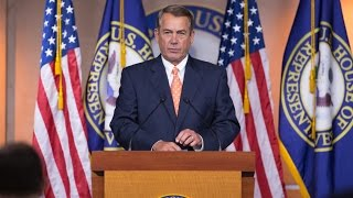 "Boehner: We Will ""Protect the Values that We Hold Dear"""