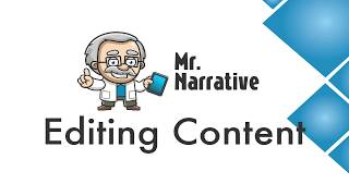 What is Mr. Narrative #5 - Editing Content
