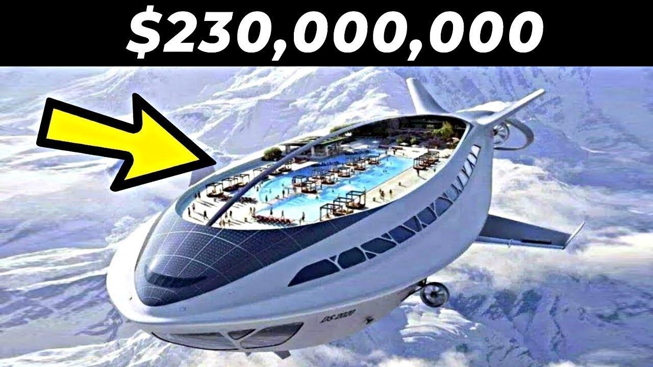أغلى الطائرات الخاصة في العالم.. يمتلكها المليارديرات فقط !!