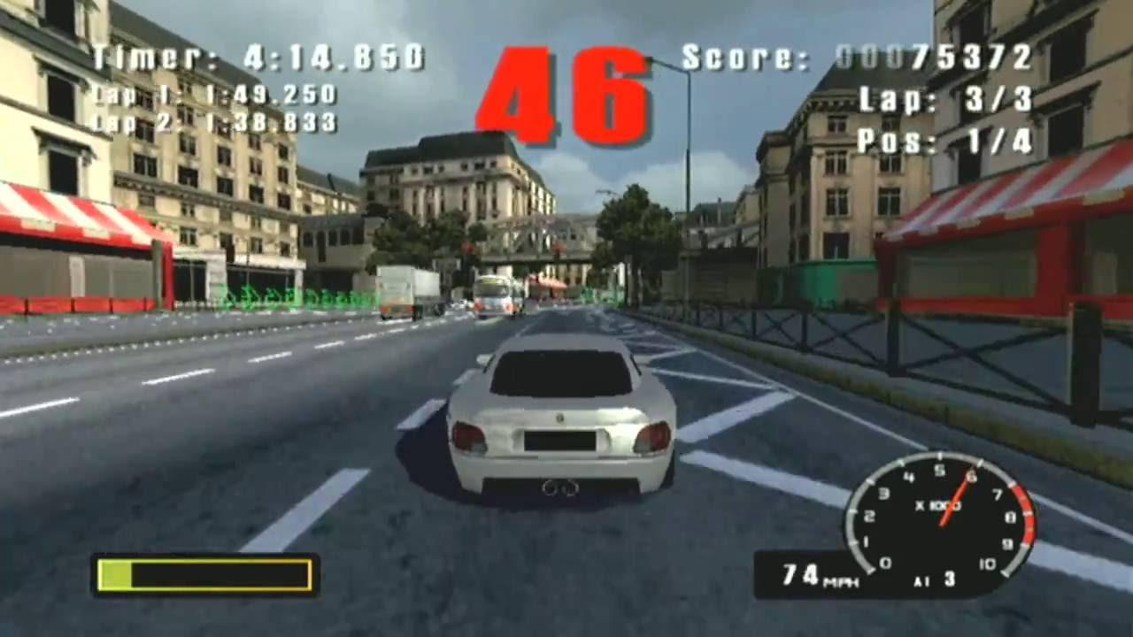 Burnout (GameCube) - Part 1