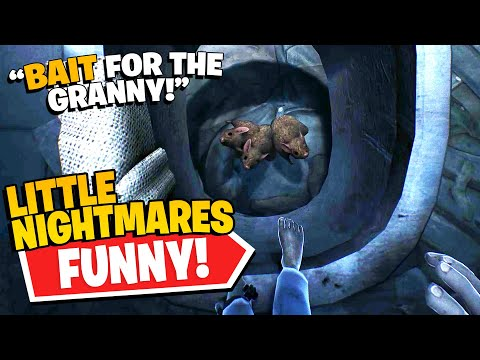 Bob Poisons the Granny?!   Rico's *NEW* Little Nightmares - First Person (Funny Compilation #46)  