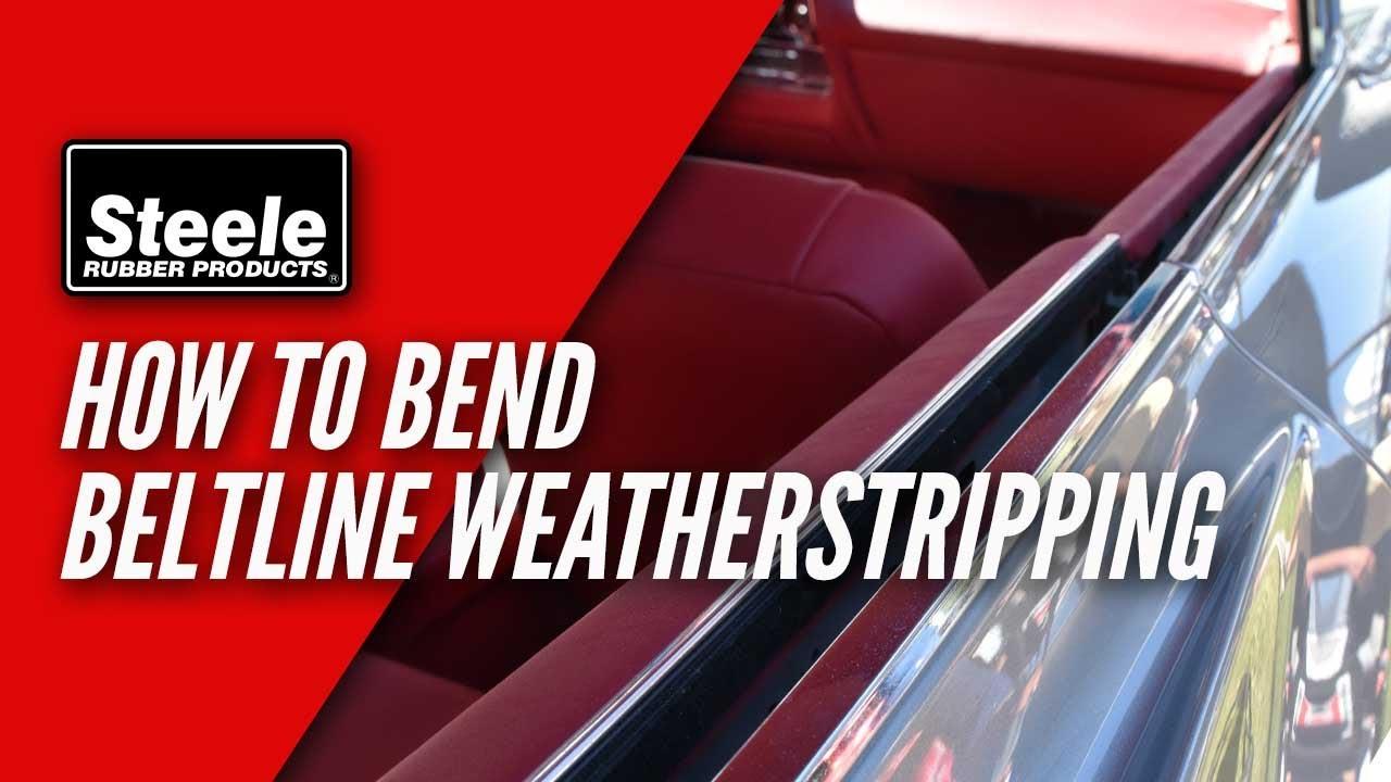 62-65 Chevy II Nova Weatherstrip Seal Kit 5 Pcs Metro USA MADE Door Roof Trunk