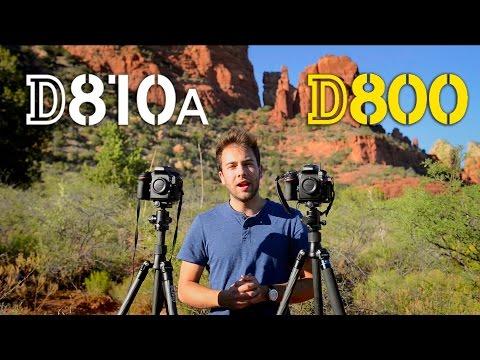 D810a vs  D800 Comparison - Landscape / Night Photography