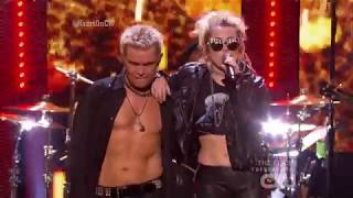 Billy Idol and Miley Cyrus Rebel Yell Live iHeartRadio Music Festival 2016 HD