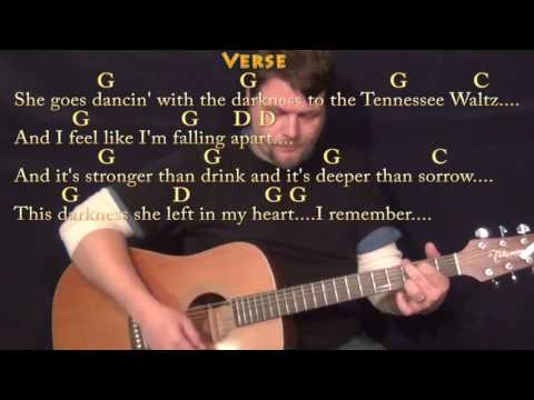 Tennessee Waltz - Guitar Lesson Chord Chart in G with Chords/Lyrics