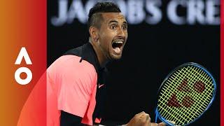 Nick Kyrgios's victory dance | Australian Open 2018