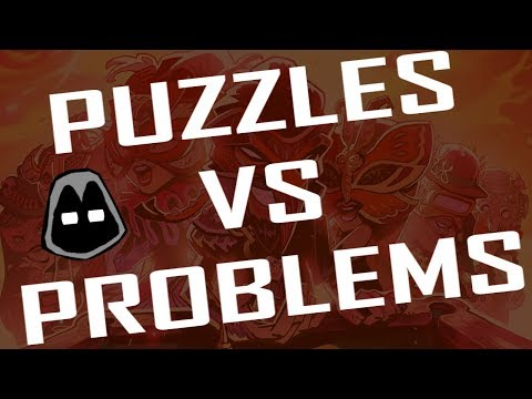 Puzzles Vs Problems: A Two-Sided Genre