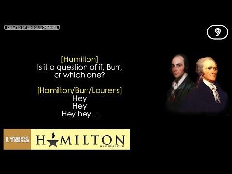 #9 Hamilton - A Winter's Ball (VIDEO LYRICS)