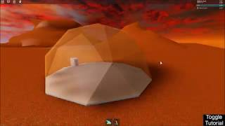 Roblox - Solar System Exploration: How to set up a Hab