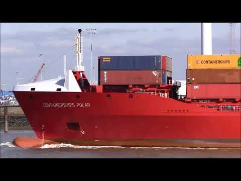 Containerships Polar 20/09/2019..Thames Shipping by R.A.S.