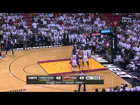 Charlotte Bobcats vs Miami Heat Game 1 | April 20, 2014 | NBA Playoffs 2014