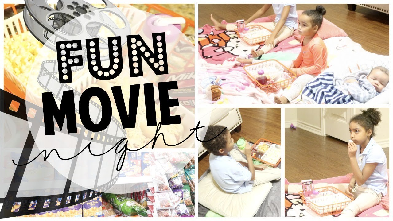 DIY Dollar Tree Trays for at Home Movie Night! | Fun Kid Activities