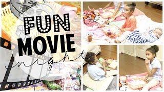 DIY Dollar Tree Trays for at Home Movie Night! | Fun Kid Activities