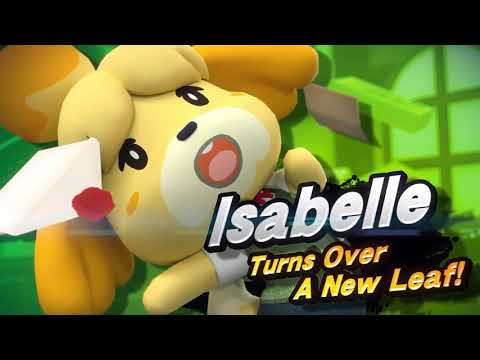 Isabelle in Super Smash Bros. Ultimate - Reveal Trailer