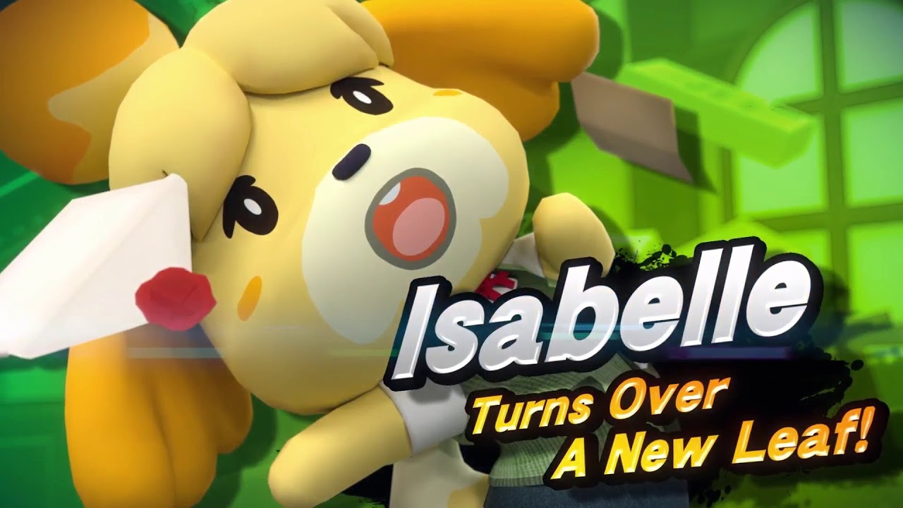 Image result for super smash bros switch isabelle