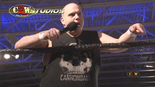 CZW: Cannonball throws down a challenge for Proving Grounds!