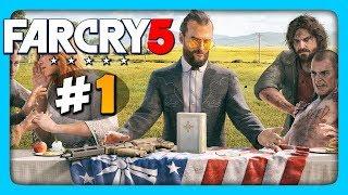 Far Cry 5 Прохождение на русском #1 ✅ БЕРЁМ ОТЦА!