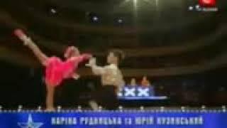 Baby gamnastic dance