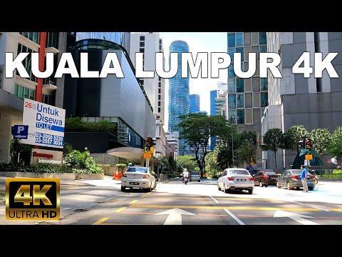 KUALA LUMPUR 4K 60FPS - DRIVING AROUND KLCC