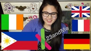 23andMe Ancestry DNA Results | Filipino & European-American