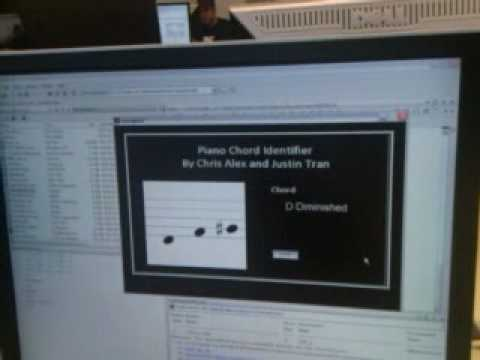 EE 443 Final Project - Piano Chord Identifier - YouTube